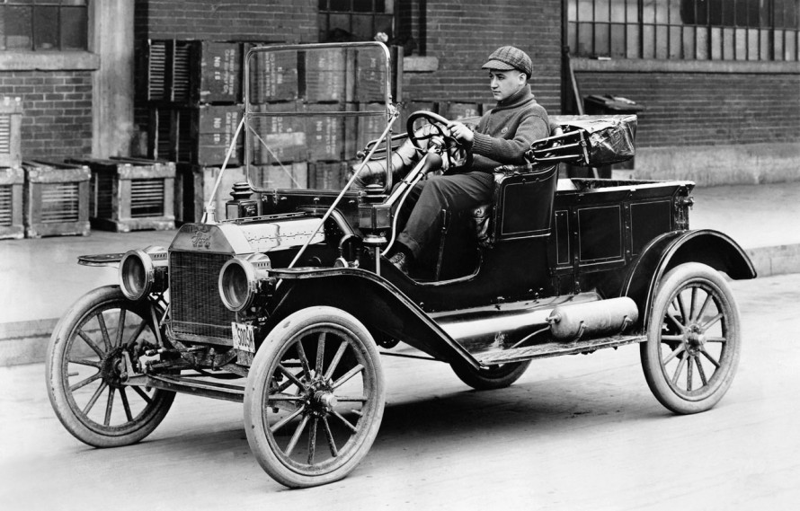 The Ford Model T, widely regarded as the world's most influential car of the 20th century. A product of iteration.