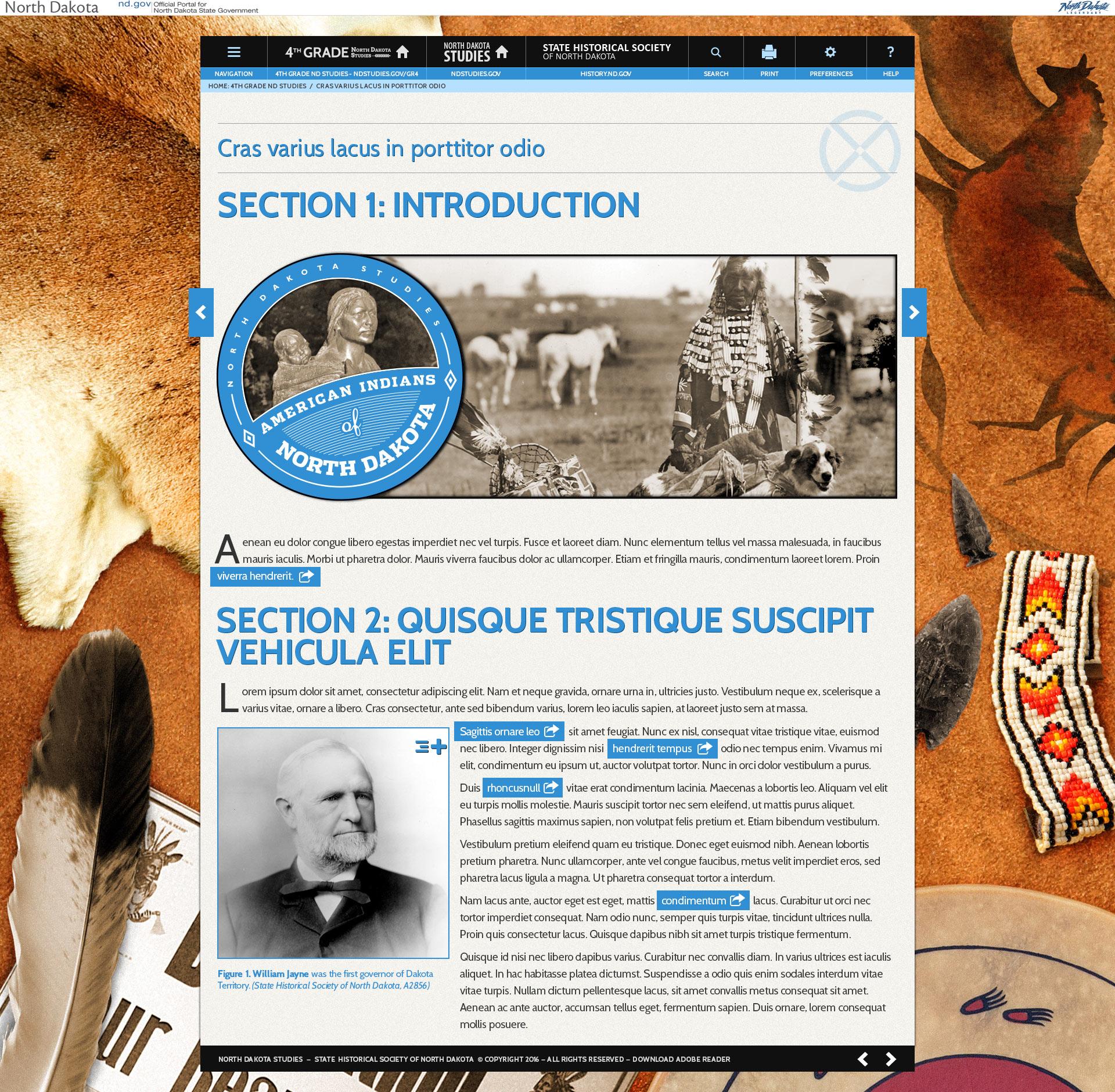 Ndstudiesthgrwebsiteamindians Agency MABU Bismarck - North dakota studies