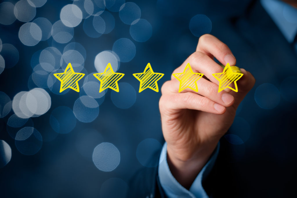 Five star Google reviews boost your company's digital reputation and customer trust.